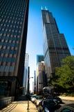 Sears Tower bei Chicago stockfotos