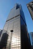 Sears Tower (torre de Willis) en Chicago Imágenes de archivo libres de regalías