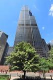 sears tower w chicago Zdjęcie Royalty Free