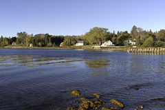 Searsport Maine kust arkivfoton