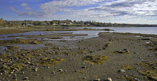 Searsport Maine Panorama Royalty Free Stock Image