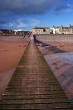 Seascale dans Cumbria Photographie stock libre de droits