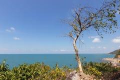 Seascape на Chanthaburi, Таиланде стоковые изображения