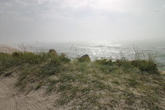 Seascape, άγρια παραλία, ωκεάνια κύματα Στοκ φωτογραφία με δικαίωμα ελεύθερης χρήσης