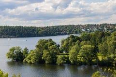 Seascape άποψη Στοκ εικόνες με δικαίωμα ελεύθερης χρήσης