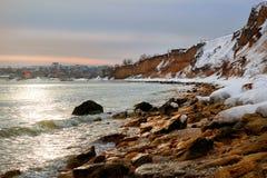 Seascape, ανατολή Στοκ εικόνες με δικαίωμα ελεύθερης χρήσης