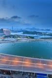 Seascape γεφυρών Xinglin Xiamen, Κίνα Στοκ εικόνες με δικαίωμα ελεύθερης χρήσης
