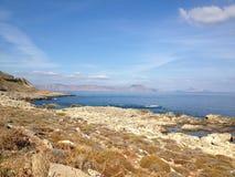 seascape δεξαμενών χώνευσης νησιών της Κρήτης balos Στοκ φωτογραφία με δικαίωμα ελεύθερης χρήσης