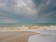 seascape θυελλώδες AO Nang Krabi Στοκ εικόνες με δικαίωμα ελεύθερης χρήσης