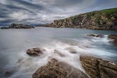 Seascape κατά μήκος της δυτικής ακτής της Ιρλανδίας Στοκ φωτογραφίες με δικαίωμα ελεύθερης χρήσης
