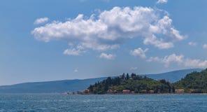 Seascape κόλπων Kotor, Μαυροβούνιο Στοκ Εικόνες