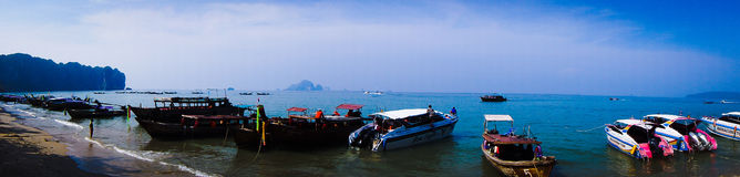 seascape νότια θάλασσα Ταϊλάνδη Στοκ Εικόνα