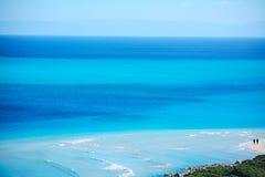 Seascape παραλιών Λα Pelosa Στοκ Εικόνες