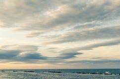 Seascape στην Ιταλία Στοκ Φωτογραφία
