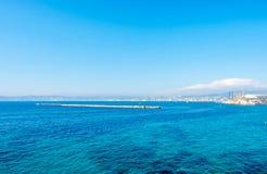 Seascape στη Μασσαλία, Γαλλία Στοκ Εικόνες