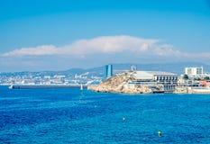 Seascape στη Μασσαλία, Γαλλία Στοκ εικόνες με δικαίωμα ελεύθερης χρήσης