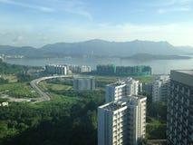 Seascape στο Χονγκ Κονγκ Στοκ Εικόνα