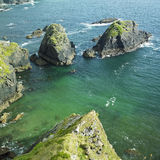 seascape της Ιρλανδίας Στοκ εικόνα με δικαίωμα ελεύθερης χρήσης