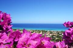 seascape της Σαρδηνίας rei της Ιταλί Στοκ Φωτογραφίες