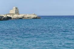 Seascape του νότου Apulia Στοκ Φωτογραφίες