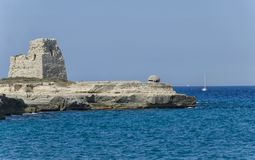 Seascape του Apulia Στοκ Εικόνες