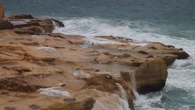 Seascape τραχιοί καιρικοί νεφελώδεις ουρανοί στοκ εικόνες με δικαίωμα ελεύθερης χρήσης