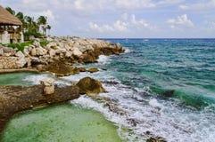 seascape τροπικό Στοκ φωτογραφία με δικαίωμα ελεύθερης χρήσης