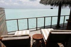 seascape балкона тропический Стоковое Изображение