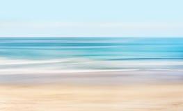 Seascape Высок-ключа абстрактный Стоковые Фото
