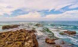 Seascape в городе Сан-Диего california r стоковая фотография