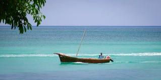 Seascape в грандиозном Baie, Маврикии Стоковое Изображение