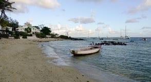 Seascape в грандиозном Baie, Маврикии Стоковые Изображения RF