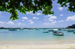 Seascape в грандиозном Baie, Маврикии Стоковое фото RF