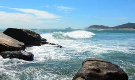 Seascape в Phan звенел, Вьетнам Стоковая Фотография