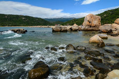 Seascape в Phan звенел, Вьетнам Стоковые Изображения