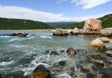 Seascape в Phan звенел, Вьетнам Стоковое Изображение