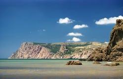 seascape гор Стоковое Изображение RF