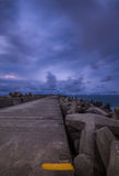 Seascape залива Richards стоковые фото