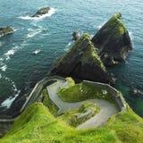 seascape Ирландии Стоковое Изображение