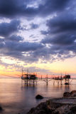 Seascape: Италия, Абруццо, s Vito Chietino, Коста de Стоковые Фотографии RF