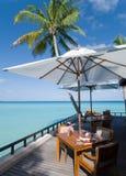 seascape Мальдивов Стоковое Фото