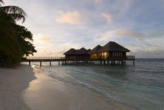 seascape Мальдивов Стоковое фото RF