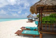 seascape Мальдивов Стоковое Изображение RF