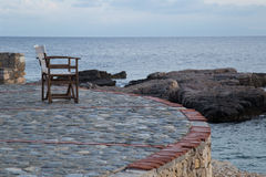 Seascape на острове Alonnisos, Греции Стоковое Изображение RF