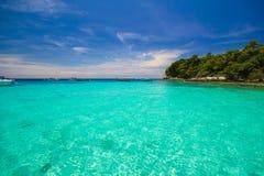 Seascape на острове Racha Стоковая Фотография