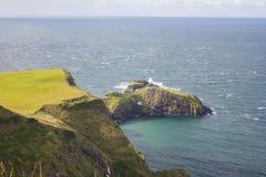 Seascape на Carrick rede в Северной Ирландии Стоковые Фото