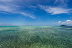 Seascape около моста Ikema Стоковое Изображение RF