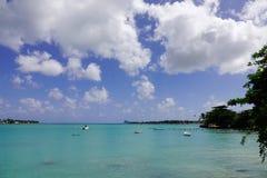 Seascape острова Маврикия Стоковые Изображения RF