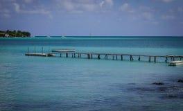 Seascape острова Маврикия Стоковое фото RF