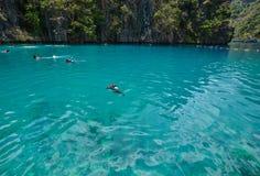 Seascape острова Coron, Филиппин стоковые изображения rf